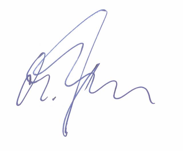 Unterschrift Kalli