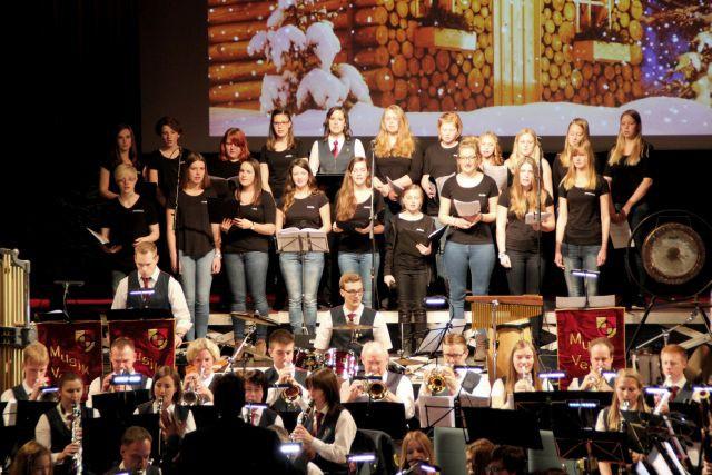 Weihnachtslieder Blasorchester.Bericht Weihnachtskonzert Musikverein Eintracht Olsberg